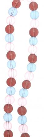 Candy Colours Glass Bead Strand