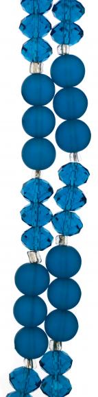 Blue Glass Strand
