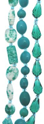 Turquoise Fancy Strands