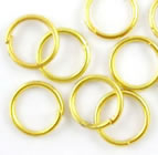 4mm Jump Ring - Gold