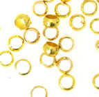 Crimp Beads - Gold