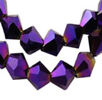 Bicone Beads - Purple